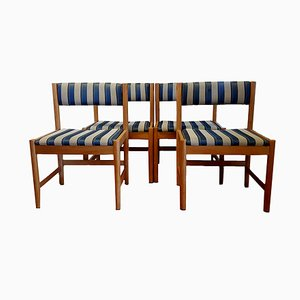Mid-Century Danish Club Chairs by Børge Mogensen for Karl Andersson & Söner, Set of 4