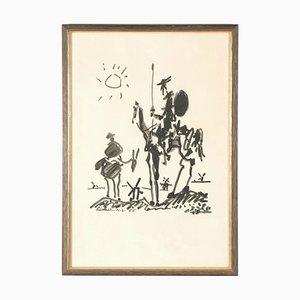 Après Pablo Picasso - Don Quixote - Lithographie
