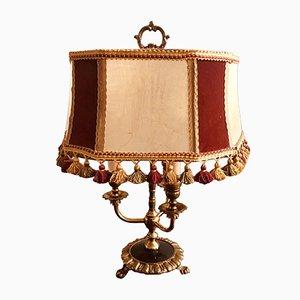 Bronze Tischlampe