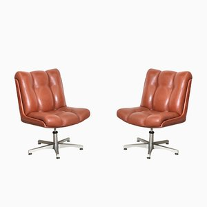 Swivel Chairs from CO.FE.MO., 1970s, Set of 2