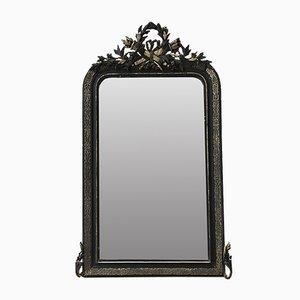 Antiker Spiegel mit Pendiment
