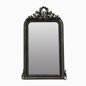 Antique Mirror with Pendiment