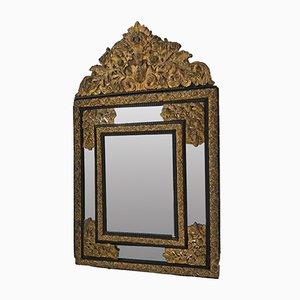 Miroir Style Napolean III avec Perles en Verre