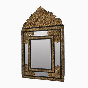 Napolean III Style Mirror with Glass Beads