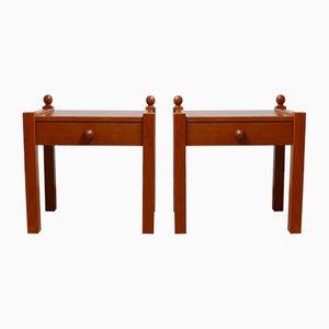 Bedside or Side Tables, 1970s, Set of 2