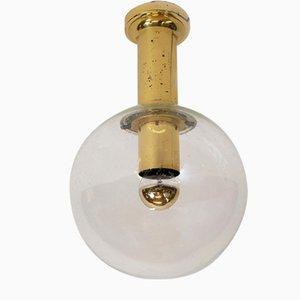 Hollywood Regency Ceiling Lamp from Glashütte Limburg, 1970s
