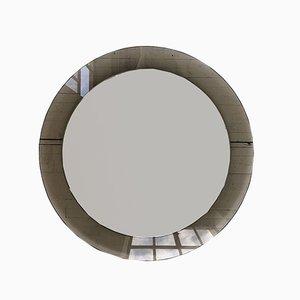 Italienischer Runder Spiegel, 1960er