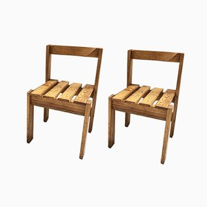 Les Arcs Style Chairs, 1960s, Set of 2