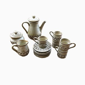 Coffee Set by Marius Besson, 1970s
