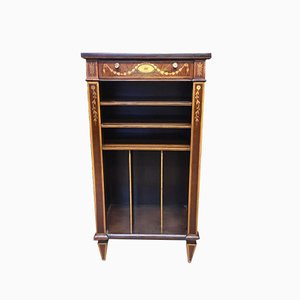 Edwardian Mahogany Music Cabinet from Edwards and Roberts, 1900s