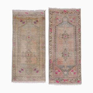 Small Turkish Wool Rugs, 1970s, Set of 2