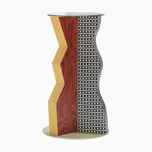Ivory Side Table by Ettore Sottsass