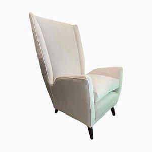 Sessel mit Hoher Rückenlehne von Gio Ponti für Isa, Italien, 1950er