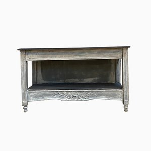 Patinated Console Table