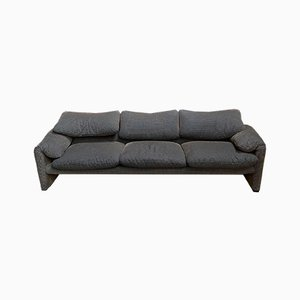 Maralunga 3-Seater Sofa by Vico Magistretti for Cassina
