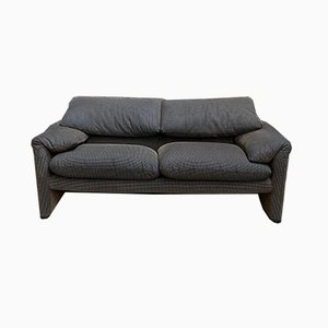 Model Maralunga 2-Seater Sofa by Vico Magistretti for Cassina