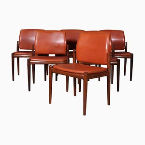 Dining Chairs by Vestervig Eriksen, Set of 6