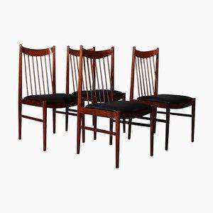 Modell 422 Palisander Stühle von Arne Vodder für Sibast, 4er Set