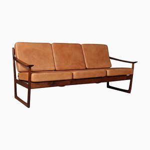 Model 130 Rosewood Sofa by Peter Hvidt & Orla Mølgaard Nielsen