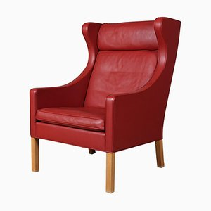 Model 2204 Wing Back Chair by Børge Mogensen