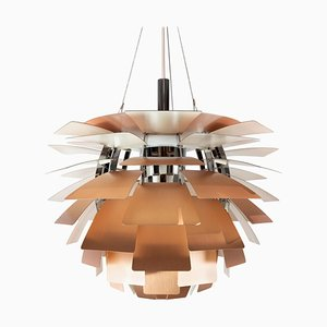 Copper Artichoke Pendant Light by Poul Henningsen, 1958