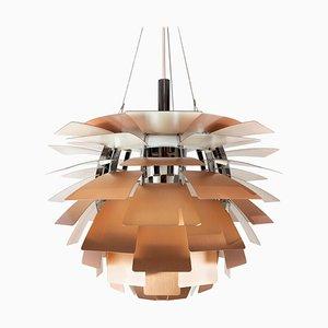 Lampe à Suspension Artichaut en Cuivre par Poul Henningsen, 1958