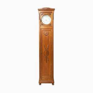 Early 20th Century French Grandfather Clock / Cupboard