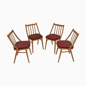 Esszimmerstühle von Antonín Šuman, 1980er, Set of 4