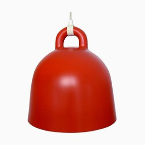 Bell Pendant in Red by Andreas Lund and Jacob Rudbeck for Normann Copenhagen