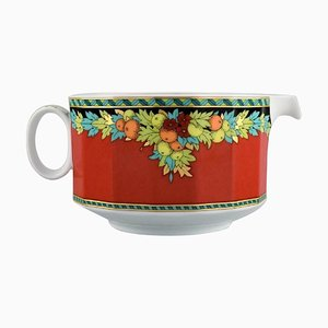 The Sun King Porcelain Sauce Jug by Gianni Versace for Rosenthal
