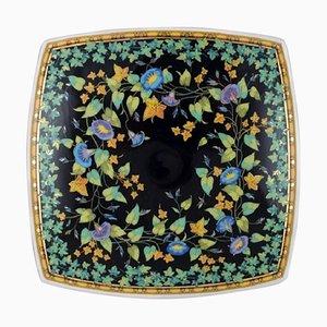 Bol Ivy en Porcelaine avec Décoration Florale par Gianni Versace pour Rosenthal
