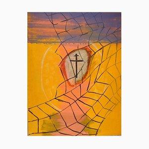 Ivy Lysdal, Acryl auf Leinwand, Abstrakte Moderne Malerei, Spätes 20. Jahrhundert