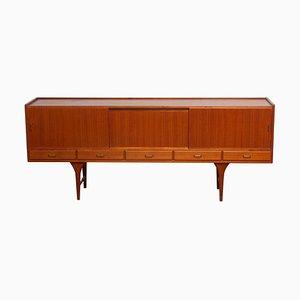 Large Scandinavian Gracil Teak Sideboard by Svante Skogh for Seffle Furniture