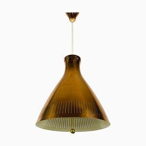 Lampe à Suspension Mid-Century en Cuivre de Vereinigte Werkstätte, 1960s