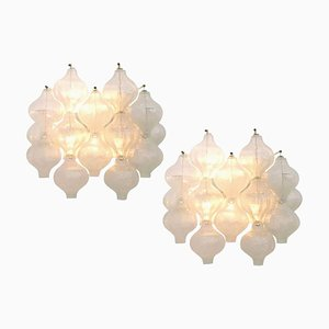 Tulipan Wall Sconce from Kalmar, 1960s, Set of 2