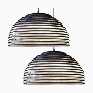 Large Saturno Hanging Lamps by Kazuo Motozawa, 1972, Set of 2