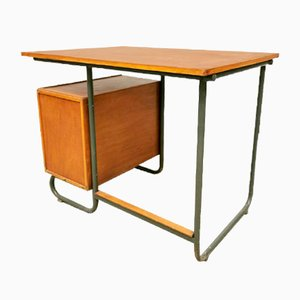 Vintage Industrial Writing Desk