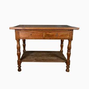 Französischer Walnuss Draper's Table, 1860er