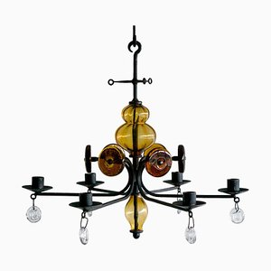 Candelabrum by Erik Hoglund for Boda Glassworks