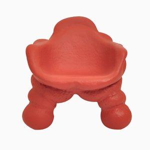 Roter The Happy Misfits Armlehnstuhl von Handmade Industrials