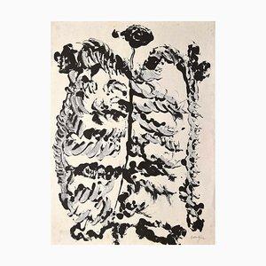 Rafael Alberti - Composition - Original Ink Drawing - 1970s