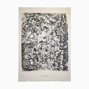 Jean Dubuffet - Bedecked Earth - Original Lithograph - 1959