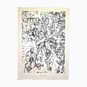 Jean Dubuffet - Mud and Rovines - Original Lithograph - 1959