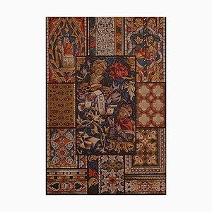 Unknown - Gotisches Buntglas - Offset und Lithographie auf Papier - Frühes 20. Jahrhundert