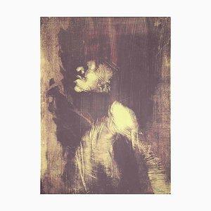 Antonio Recalcati - The Shape - Original Lithografie - 1970er Jahre