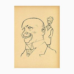 George Grosz - Big Head - Offset und Lithographie - 1923