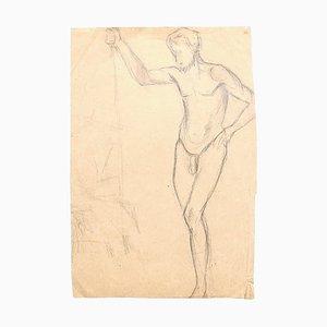 Unknown - Studies for Figures - Originalzeichnung auf Papier - 1920er