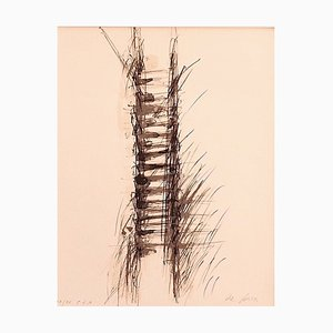 Elio De Luca - Composition - Original Lithografie auf Papier - 1980er