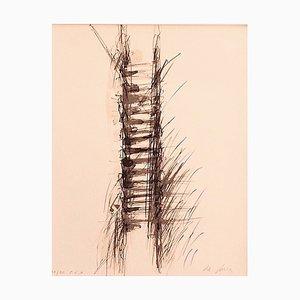 Elio De Luca - Composition - Original Lithograph on Paper - 1980s