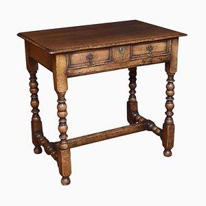 17th Century Style Oak Side Table